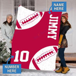 Custom Blankets 49ERS Football Personalized Blanket - Fleece Blanket #55190