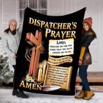 Custom Blankets Dispatcher's Prayer Blanket - Fleece Blanket