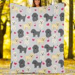 Custom Blankets Labradoodle Dog Blanket - Fleece Blanket
