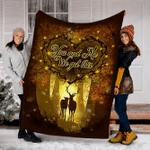 Reindeer Customs Blanket You And Me We Got This Blanket - Fleece Blanket