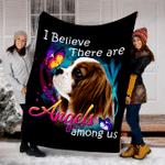 Customs Blanket Cavalier King Charles Spaniel 02 Angels Among Us Classic Dog  Blanket - Fleece Blanket