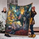 Custom Blanket 3D Owl Blanket - Fleece Blanket