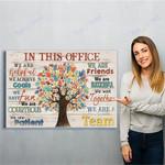 Social Worker Canvas Print Wall Art - Matte Canvas