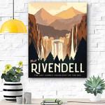Riven Dell Canvas Print Wall Art - Matte Canvas