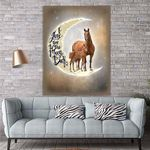 To My Daughter Horse Canvas Print Wall Art - Gift For Daughter - Matte Canvas #89304