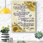 Sunflower Canvas Print Wall Art - Matte Canvas