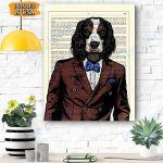 King Charles Cavalier Dog Canvas Prints Wall Art - Matte Canvas