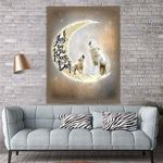 To My Daughter Wolf Canvas Print Wall Art - Gift For Daughter - Matte Canvas #20942