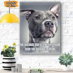 PITBULL Dog Canvas Prints Wall Art - Matte Canvas #80905