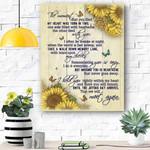 Sunflower Canvas Prints Wall Art - Matte Canvas