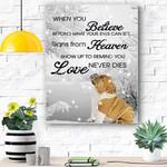 Bulldog Dog Snow Canvas Prints Wall Art - Matte Canvas