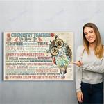 Chemist Chemistry Canvas Print Wall Art - Matte Canvas