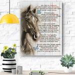 Horse Canvas Print Wall Art - Matte Canvas #23799