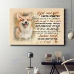 Corgi Dog Canvas Prints Wall Art - Matte Canvas #35470