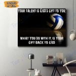 Volleyball Canvas Prints Wall Art - Matte Canvas