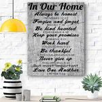 In Our Home Canvas Prints Wall Art - Matte Canvas