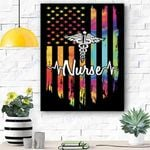 Proud Nurse Canvas Print Wall Art - Matte Canvas