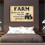 Farm Canvas Prints Wall Art - Matte Canvas