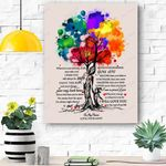 To My Niece Canvas Print Wall Art - Gift For Niece - Matte Canvas