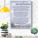 Heaven - Special Husband Xmas Canvas Prints Wall Art - Matte Canvas