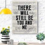 There Will Be You And Me Canvas Print Wall Art - Matte Canvas