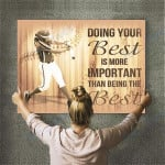 Custom Photo Baseball Personalised Canvas Prints Wall Art - Matte Canvas #49834