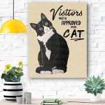 Cat Canvas Prints Wall Art - Matte Canvas #74057