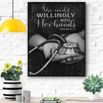 Nursing Canvas Prints Wall Art - Matte Canvas