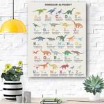 Dinosaur Canvas Prints Wall Art - Matte Canvas