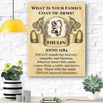 What Is Your Family Canvas Print Wall Art - Matte Canvas