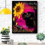 Cane Corso My Sunshine Canvas Print Wall Art - Matte Canvas