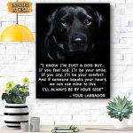 Labrador Dog Canvas Prints Wall Art - Matte Canvas #96898