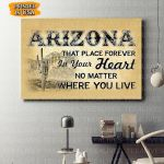 Arizona Canvas Prints Wall Art - Matte Canvas
