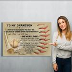 baseball - Grandma - Matte Canvas