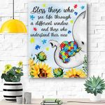 Bless Those Who Understand Their View Canvas Print Wall Art - Matte Canvas