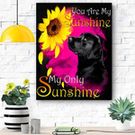Labrador My Sunshine Canvas Print Wall Art - Matte Canvas