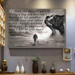 Pitbull Dog Canvas Prints Wall Art - Matte Canvas #21875