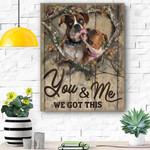 Boxer Dog Canvas Prints Wall Art - Matte Canvas #66045