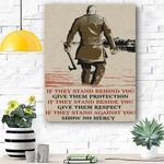 Give Them Protection Canvas Prints Wall Art - Matte Canvas