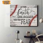 Softball Canvas Prints Wall Art - Matte Canvas #80746