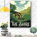 The Shire Canvas Print Wall Art - Matte Canvas