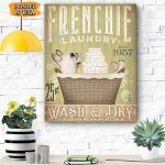 Frenchie Dog Canvas Prints Wall Art - Matte Canvas #26219