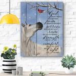 Horse Canvas Print Wall Art - Matte Canvas #20950