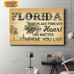 Florida Canvas Prints Wall Art - Matte Canvas