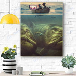 Fishing Canvas Prints Wall Art - Matte Canvas