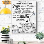 Baby Elephant Niemand Canvas Prints Wall Art - Matte Canvas