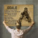 Custom Photo Hockey Personalised Canvas Prints Wall Art - Perfect Gift For Son - Matte Canvas