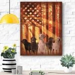 Labrador Dog Canvas Prints Wall Art - Matte Canvas #66626