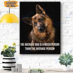 German Shepherd Dog Canvas Prints Wall Art - Matte Canvas #47602