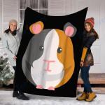 Custom Blanket Guinea Pig Blanket - Fleece Blanket